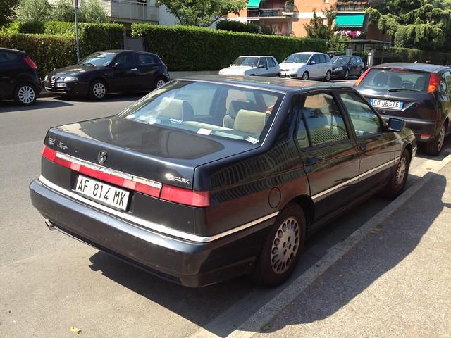 auto cars car automobile 164 1995 alfaromeo alfa164