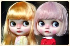 Sisterly Love...*Mango Pudding & Strawberry Muffin**