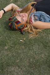 In the grass // Dekmantel Festival (Merlijn Hoek) Tags: amsterdam festival fotografie festivals zaterdag fotograaf 2013 fotografiemerlijnhoek dekmantel festivalfotos lastfm:event=3553348