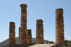 Temple of Delphi, Greece (Sharon Mollerus) Tags: delphi greece qdm13