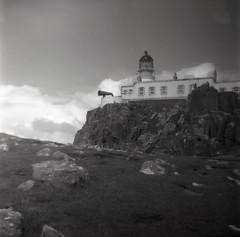Ful Vue Super (fawcetownsley) Tags: blackandwhite skye 120 6x6 film 1hr scotland diy stand kodak mf rodinal aero 25asa 70mm fixer v500 1to100 fulvue 2645