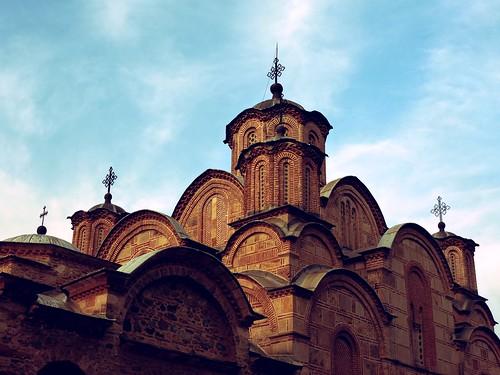 Cathédrale de Gracanica, Kosovo