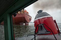 Federal Elbe Milwaukee, WI (wisconsinrails) Tags: wisconsin ship salty milwaukee tugboat arkansas portofmilwaukee fednav gtug greatlakestowing federalelbe