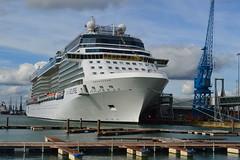 Celebrity Eclipse (PD3.) Tags: uk cruise sea england holiday celebrity water docks eclipse holidays ship ships hampshire passengers solent southampton cruises hants