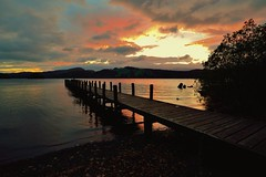 Jetty (Keith Grafton) Tags: sunset landscape nikon lakes lakedistrict cumbria coniston d800 1635mm conistonwater