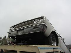 Dodge Launcher (Hugo-90) Tags: auto show old classic car club washington automobile market antique event swap monroe vehicle wa dodge mopar flea coronet meet 1965 aarc