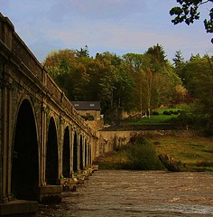 Inistiogue Co Kilkenny (Leo Bissett) Tags: bridge kilkenny ireland sunset river nore inistiogue