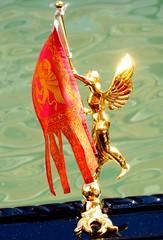 Venetian Flag - Bandiera del Leone alato (mark@pfalz) Tags: venice del flag venezia leone venedig flagge alato bandiera leonealato markpfalz bandieradelleonealato