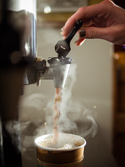 165/365 The best part of waking up... (Vincent-F-Tsai) Tags: morning coffee steam 365 leicadgsummilux25mmf14