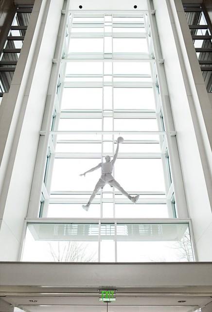 Nike CEO Mark Parker 的辦公室