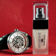 Technology (Chrisar) Tags: nikon watch cosmetics montre wpe nikon50mm beuchat neomist creamserum neovix crèmesérum