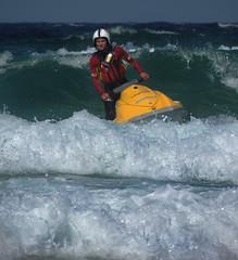 Jetski Surf Patrol (Dean Page Photography) Tags: cornwall stives