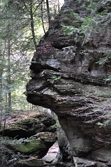 """Sphinx Head"" (Victoria Lea B) Tags: ohio rock erosion hockingcounty oldmanscavestatepark"