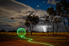 Lightningpainting? (picturesbysteve) Tags: york longexposure light storm lightpainting canon painting landscape long exposure country australia western wa lightning lightening westernaustralia 6d 2013 lightartperformancephotography lightartphotography stephenhumpleby2013