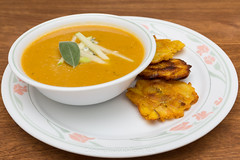 Creamy Roasted Butternut Squash Soup (Tom Noe) Tags: grandma soup homecooking plantains tostones butternutsquashsoup