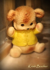 Let Me Be Your Teddybear (Kristi Booher Photography) Tags: teddybear collectibles losttoys toysofthepast