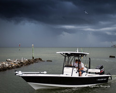 Storm's A Comin' (augphoto) Tags: ocean nature water outdoors boat us unitedstates alabama dauphinisland augphotoimagery