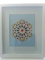 Geometric Mosaic Paper Cutting (mldolls) Tags: geometric paper panel mosaic large cutting