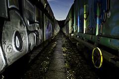 A rayu y fierru - I (Athalfred DKL) Tags: longexposure light lightpainting station train painting children tren long exposure asturias led lp estacin darklight herramientas lps lenser lpe lightgraff dkl ledlenser herramientaslightpainting