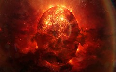 Palnet-about-Explode (GurshobitBrar) Tags: blue red galaxy planets newworlds