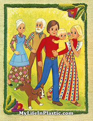 Mandatory Credit: All Images Courtesy Michael Williams/MyLifeInPlastic.com (MyLifeInPlastic.com) Tags: family grandma dog baby pets house black flower home sunshine childhood hippies illustration cat truck project paper children mom fun toy toys happy design store infant doll dad dolls child graphic grandmother box farm african crafts father steve memories daughter mother mint hippy environmental illustrations craft son ephemera collection nostalgia american packaging sweets nostalgic hippie van crafty 1970s recycle printed mattel mib diorama collectibles memorabilia doityourself stephie collector dollhouse ecological reuse matter the granparents nrfb