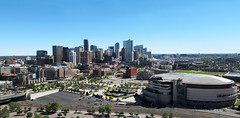 Denver Panorama (Batikart) Tags: city travel blue autumn vaca