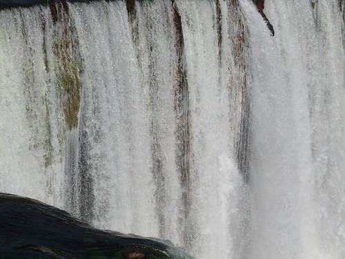Zambia. Catarata Lumangwe. Cortina de agua