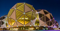 AAMI Park (Carlos Barrero) Tags: park architecture night boulevard stadium melbourne victoria olympic rectangular aami