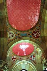 Ceramics and architecture details - Hospital de la Santa Creu i Sant Pau in Barcelona (Sokleine) Tags: barcelona faïence architecture hospital spain ceramics details modernism catalonia ceiling unesco espana artnouveau tiles espagne unescoworldheritage barcelone holycross plafond hôpital catalogne domenechymontaner décorarchitectural santacreauisantpau