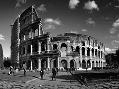 Colosseo B&W