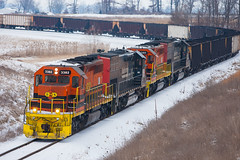 Grunge (Train Chaser) Tags: sd402 isrr indianasouthern isrr3382