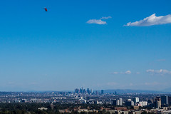 Flying over Los Angeles (Bryan Pugh) Tags: losangeles ucla downtownla gettycenter helecopter sonya77 uplandfire sony1650ƒ28
