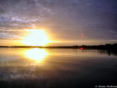 Suriname (Menne Hielkema) Tags: sunset clouds zonsondergang natuur wolken suriname