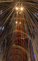 Ribbons (zoxcleb) Tags: sf sanfrancisco california light color art colors canon ribbons unitedstates cathedral grace gracecathedral canon5dmk3 gracedwithlight