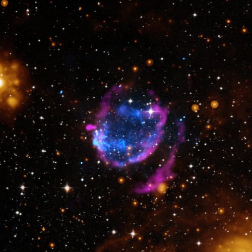Supernova Cleans Up Its Surroundings (NASA, Chandra, 04/10/14)