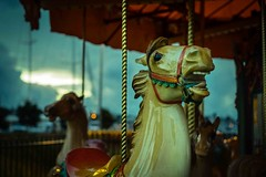Carousel -2 (tangenning) Tags: sunset night harbour carousel fe55mmf18za