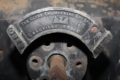 3203 Regulator Stuffing Box (LC1073) Tags: steamlocomotive steamloco broadmeadow 3203 clydeengineering pclass nswgr stuffingbox 32class broadmeadowloco broadmeadowlocodepot broadmeadowroundhouse