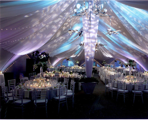Longview Tent Wedding Reception