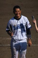 DSC05306 (shi.k) Tags: 横浜ベイスターズ 140601 嶺井博希 イースタンリーグ 平塚球場