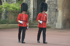 On Parade (Joybelle007) Tags: uk red nikon parade soldiers windsor uniforms swords d90