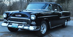 "1955 Chevy Bel-Air • <a style=""font-size:0.8em;"" href=""http://www.flickr.com/photos/85572005@N00/14200050354/"" target=""_blank"">View on Flickr</a>"