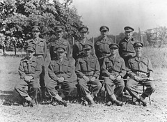 HOME GUARD OFFICERS (stephen.lewins (1,000 000 UP !)) Tags: ww2 officers royalartillery homeguard
