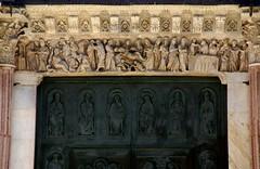 Siena, Piazza del Duomo, Duomo Santa Maria Assunta, Architrav des Hauptportals (main portal architrave) (HEN-Magonza) Tags: italien italy italia tuscany siena toscana toskana piazzadelduomo duomosantamariaassunta portalarchitrav portalarchitrave