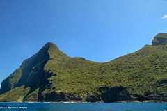 Back of Mt Gower - Lord Howe Island Circumnavigation (Black Diamond Images) Tags: mountains island boat paradise australia cliffs nsw boattrip circumnavigation lordhoweisland worldheritagearea mtgower thelastparadise circleislandboattour