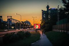 Belgrade (kostamilicevic) Tags: sunset sky serbia belgrade beograd srbija