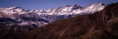 Cordillera central (puntos suspensivos(..)) Tags: chile blue sky mountains nature america landscape south paisaje summit cerros montaas