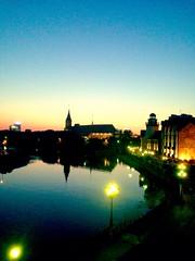 Sunset at Kaliningrad, Russia