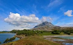 Landscape (bjorbrei) Tags: sea sky mountain water norway clouds fjord helgeland nordland alstahaug