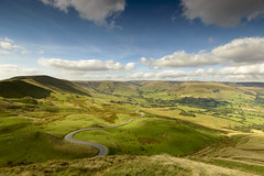 View from The Great Ridge (John__Hull) Tags: peak district edale road derbyshire mam tor nikon d3200 sigma 1020mm view vista countryside valley