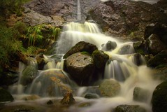 Waterfall (MortenTellefsen) Tags: waterfall water norwegian nature norway norsk natur foss vann art canon 550d